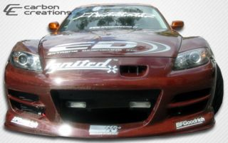 2004 2008 Mazda RX 8 Carbon Creations GT Competition Front Bumper Body
