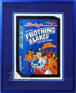 2011 Topps Wacky Packages Series 8 Original Sticker Art Frosted Flakes