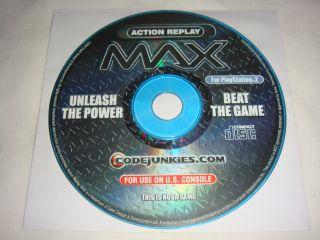 ... AR Action Replay Max Version 3 36 PS2 PlayStation 2 ...