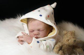 Reborn Doll Suzanna by Olivia Stone Lifelike Fake OOAK Baby Boy Micro
