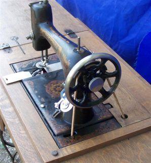 McCaskill Rotoscillo Shuttle Sewing Machine Treadle Serviced Beauty