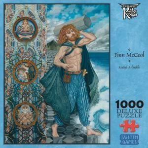 Finn McCool de Danann 1000 Piece Irish Jigsaw Puzzle Ireland Celtic
