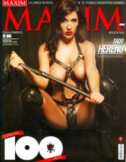 Maxim Argentina 12 12 Sado Fetish Big Brother Jesica Hereñu Cov Brand