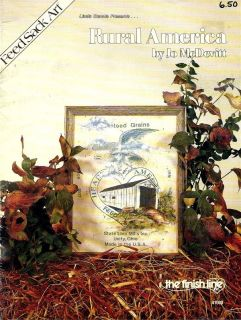 Tole Painting Pattern Book Rural America McDevitt