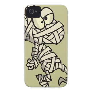 cute mummy kid cartoon character iPhone 4 Case Mate case