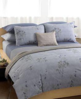 Calvin Klein Bamboo Flower Full/Queen Duvet Cover   Bedding