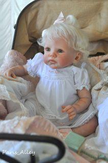 Sweet Reborn Realistic Rainer by Romie Strydom OOAK Baby Girl Doll