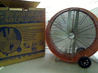 Maxxair 30 in 2 Speed Portable Direct Drive Air Circulator Fan