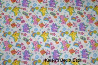 Care Bears Baby Girl Boy White Nursery Curtain Valance