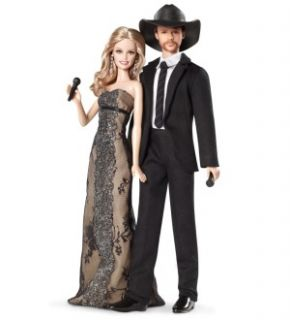 Barbie Collector Tim McGraw and Faith Hill Doll Gift Set New