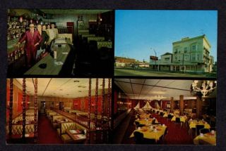 Oh Mazzas Restaurant Mount Vernon Ohio Postcard PC