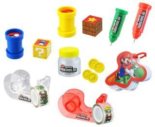 Super Mario Bros School Office Supply Green Pipe Pen
