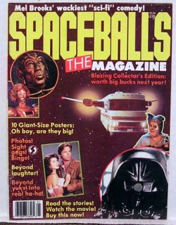 1987 Spaceballs The Magazine Star Wars Mel Brooks