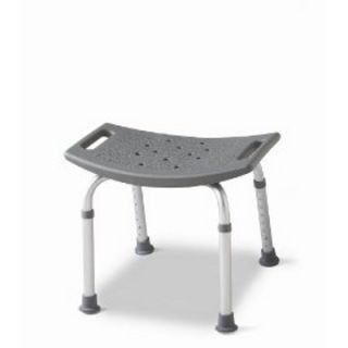 Medline Elderly Bathtub Shower Seat Chair Bench Stool