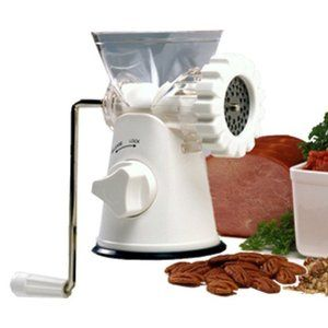 Norpro Meat Grinder Mincer and Pasta Maker New