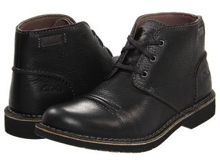 Clarks Mens Medway Smith Chukka Ankle Boots Black Oily Leather 62073