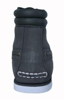 Timberland Mens Boots 7 Eye Chukka Gray Nubuck 26597 Sz 8 5 M