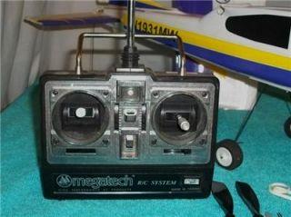 Megatech Airstrike Air Strike RC Radio Control Airplane w Controller