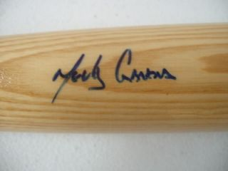 Melky Cabrera Autograph Signed Bat Rawlings Big Stick Elite Sports COA