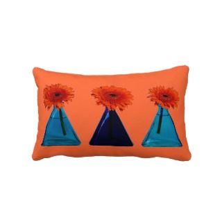 Orange Lumbar Pillow