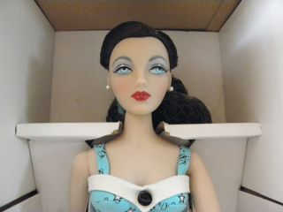 Gene Marshall Collection Doll Mel Odom 16 Wearing Blue 50s Short Set