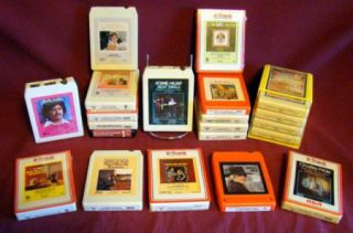 Classic Country 8 Track Tapes Statlers Anne Murray Mel Tillis