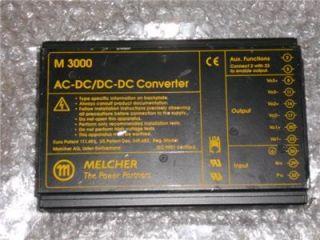 Melcher AC DC DC DC Converer M 3000