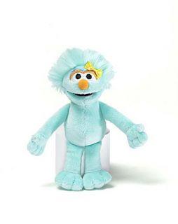 Gund Plush Sesame Street 7 Rosita Doll Beanbag New