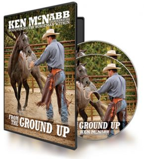 SEALED Ken McNabb from The Ground Up Horse Training DVD