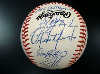 1990 New York Mets Team Signed Baseball
