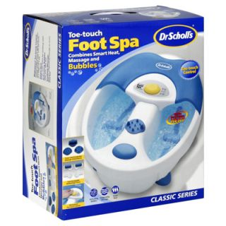 Dr Scholls Foot Spa Toe Touch w Massage Smart Heat Lightly Used