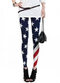 New Womens American Flag The Stars and The Stripe Union Jack Print