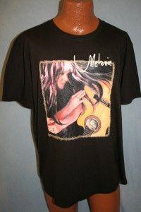 Melanie Safka 2002 Crazy Love Concert Tour T Shirt Size Large RARE