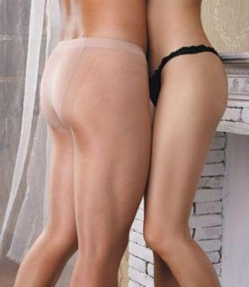 Men Sheer to The Waist 10 Denier Nude Pantyhose for Men 1 Sz
