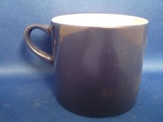 Melitta Tea Cup Coffee Mug Cobalt Blue Porcelain Teacup