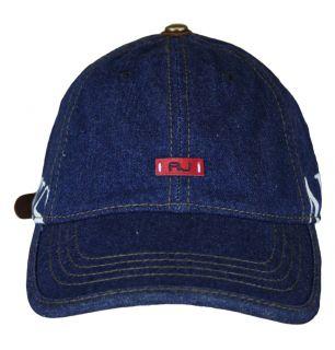 Armani Jeans R6459 S7 Mens Cap SS12 Blue Denim