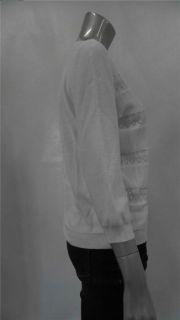 Mercer Street Studio Misses Womens Knit Cardigan Sweater Sz XL White