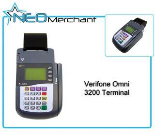 Verifone Omni 3200 Credit Card Terminal