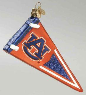 Merck Familys Ornament Auburn Univ Pennant 8352334