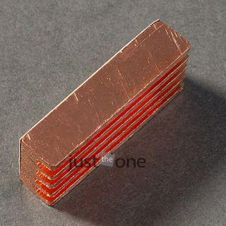 Pcs Copper Heat Sink Heatsinks Memory Cooler Fan for PC Computer DDR