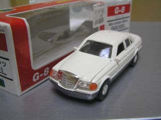 Diapet Yonezawa G8 Mercedes Benz 560 Sel 1 40 Scale Made in Japan