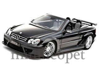 Kyosho Mercedes Benz CLK DTM AMG Cabriolet 1 18 Black
