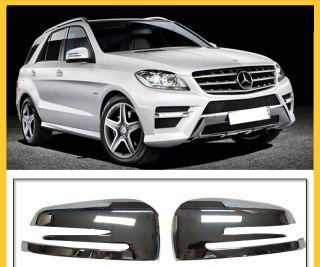 For Mercedes Benz GLK 300 GLK 350 Chrome Side Mirror Cover Trim