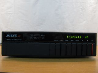 Boothroyd Stuart Meridian 561 Digital Surround Controller Processor A