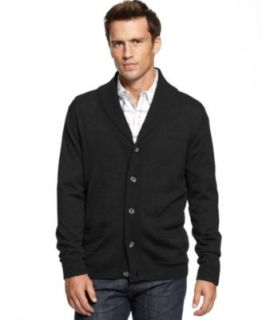 Club Room Sweater, Merino Wool Blend Shawl Collar Cardigan