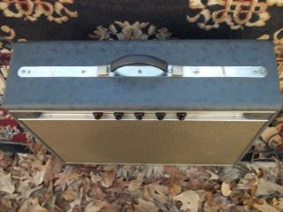 60s Standel 82L15V Tube Amp Jazz Steel Guitar Merle Travis Hear