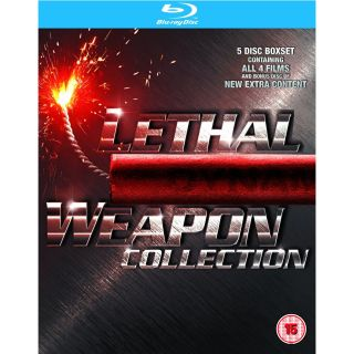 Weapon 1 4 Blu Ray Movies Complete Box Set Collection 1 2 3 4