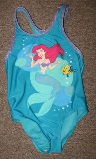 Ariel Little Mermaid Swimsuit Girl 2T