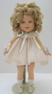 1935 Ideal Shirley Temple Doll 16 Composition w Trunk