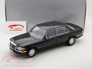 18 vehicle: Mercedes Benz 560 SEL Article ID: B66040599 colour: black